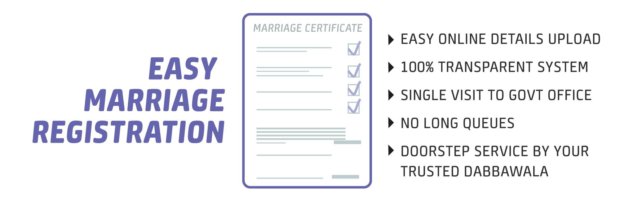Digital Dabbawala Marriage Registration